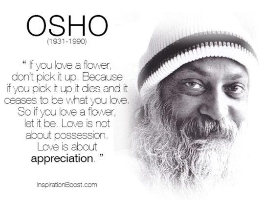 osho love