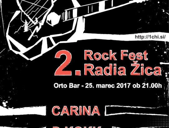 2 ROCK FEST RADIA ŽICA - 25.3.2017 - ORTO BAR