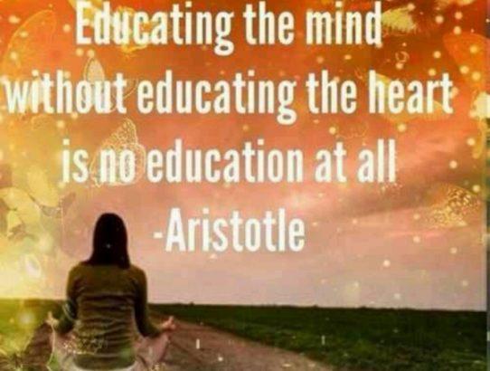 aristotel obrazovanje