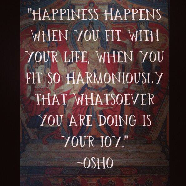 osho happinesss