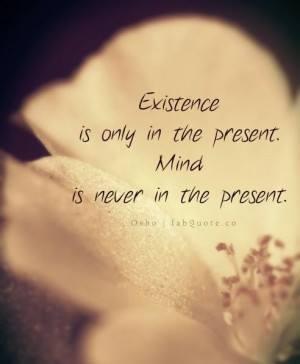 existence osho