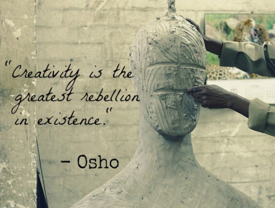 osho creativity
