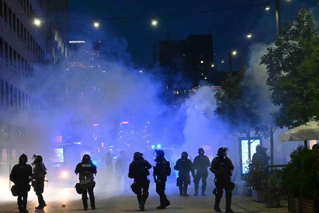 policija gas